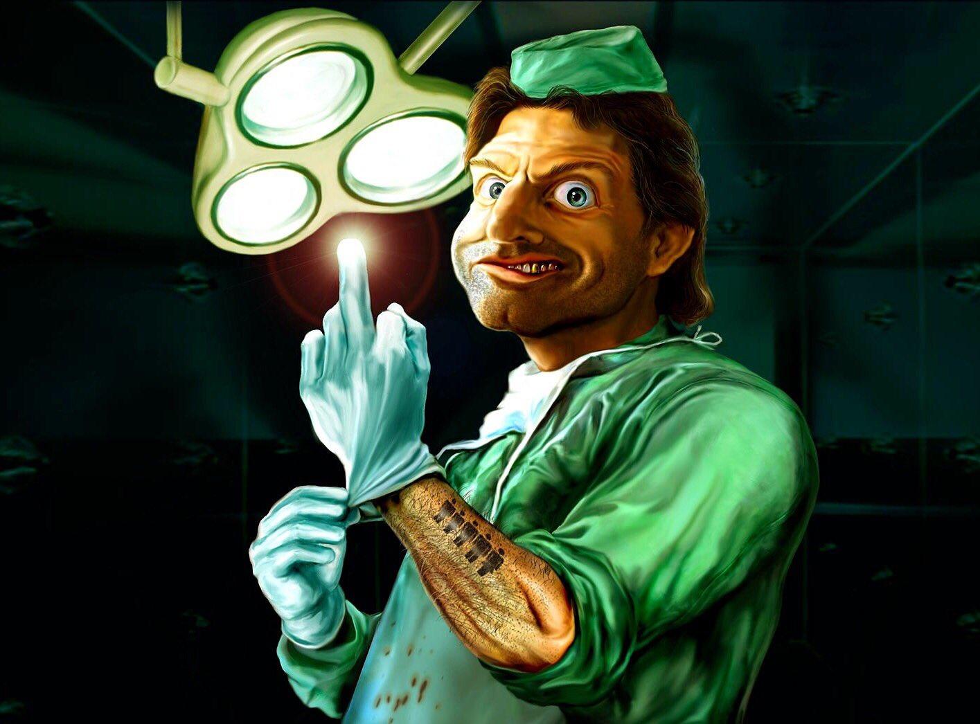 Днем рождения, смешные картинки хирург
