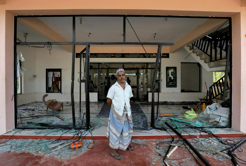 Sri Lanka imposes nationwide curfew after mosques attacked