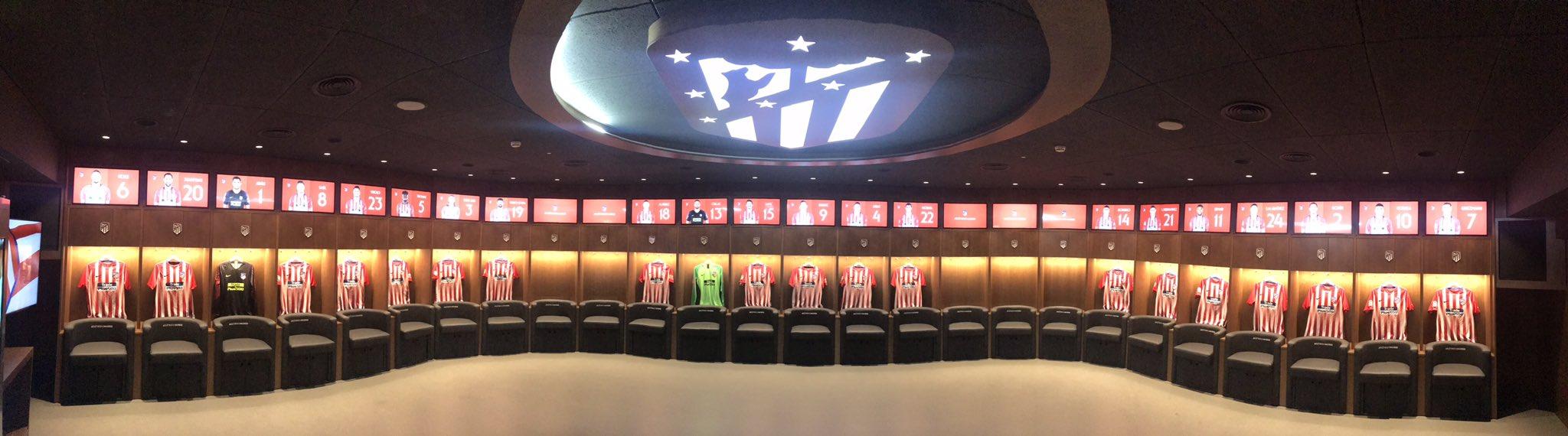 Dressing Room Home Tim Wanda Metropolitano Stadium