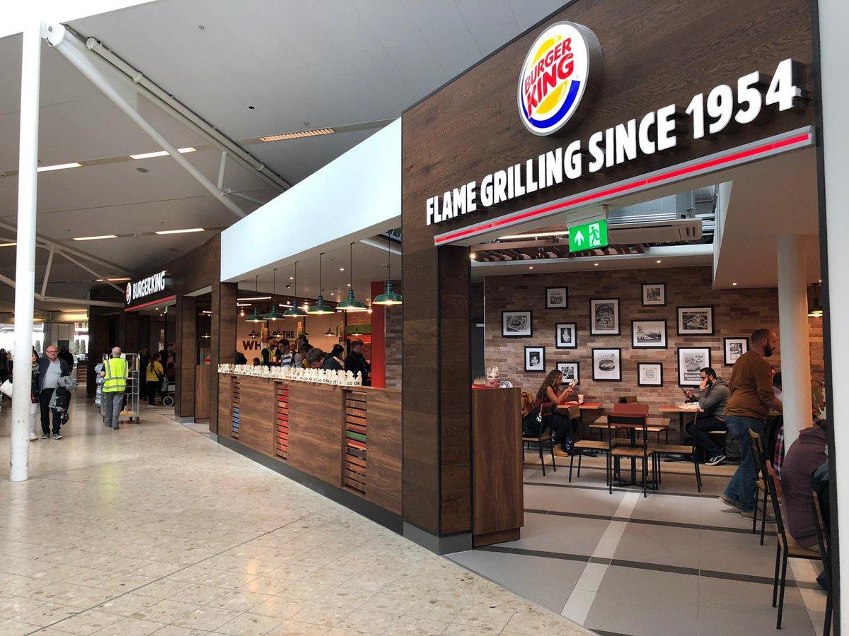 Flughafen Düsseldorf Burger King