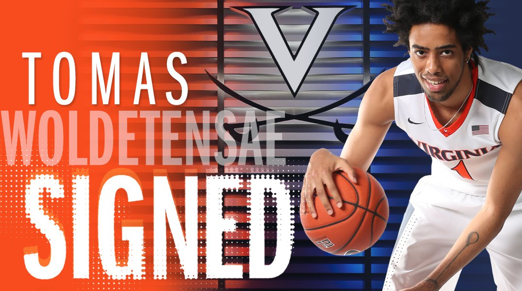 Join us in welcoming Tomas Woldetensae to Grounds! ▶️ wahoowa.net/2W20vi6 🔶⚔️🔷 #GoHoos