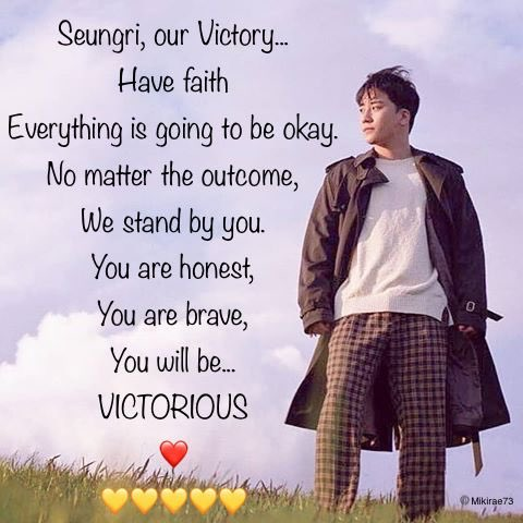 I know you're tired. You've fought hard Ri but we're nearly there. Stay strong, no matter the outcome, I will still be here.  #SeungriYouAreNotAlone  #seungrifighting<br>http://pic.twitter.com/pU2QtjrpCz