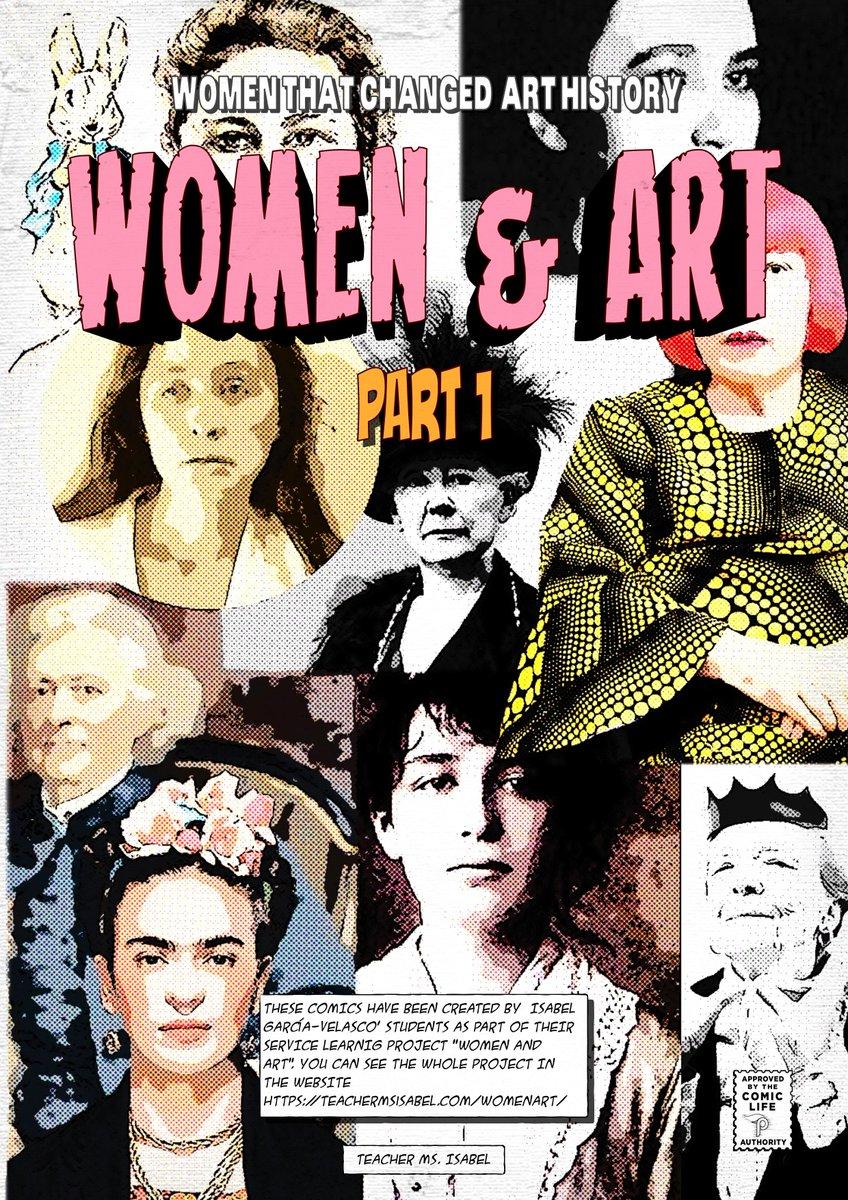 Ya tenemos los cómics de #Womenandart subidos a la web, creo que os van a gustar teachermsisabel.com/womenart/