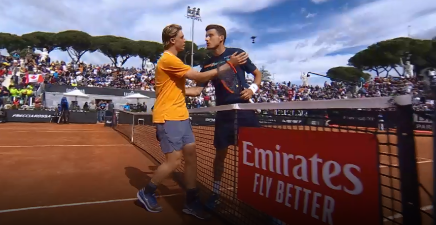 Tom Tebbutt On Twitter Rome Denis Shapovalov Wins His 1st Match Of Year On Outdoor Clay Def Pablo Carreno Busta 6 3 7 6 5 Ds Had A Little Too Much Game For A