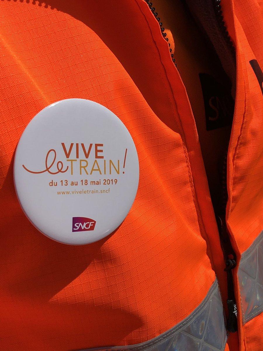 Opération vive le train toute la semaine avec SNCF : aujourd'hui découverte des métiers de la caténaire et voie https://t.co/5kX2NXQhjC