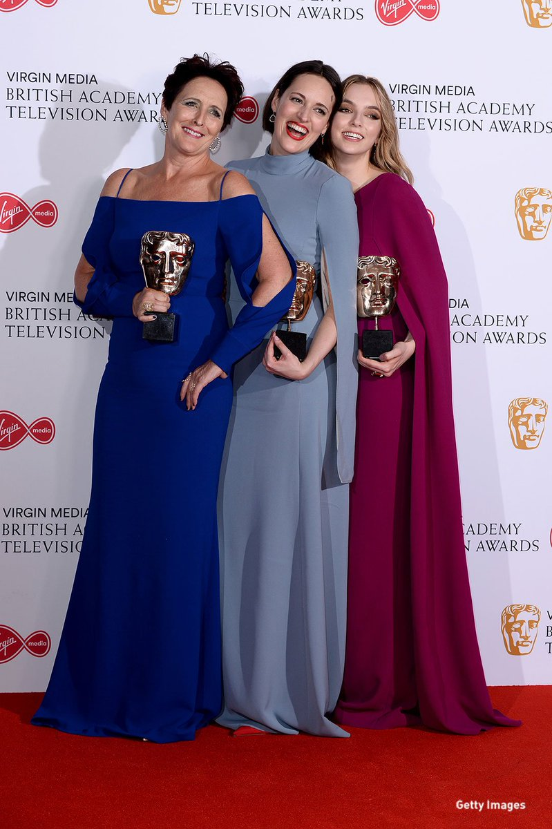 #KillingEve killed it at #BAFTATV, taking home three of the top awards!  https:// bbc.in/2HfycVg    <br>http://pic.twitter.com/QGQmKQPuhU