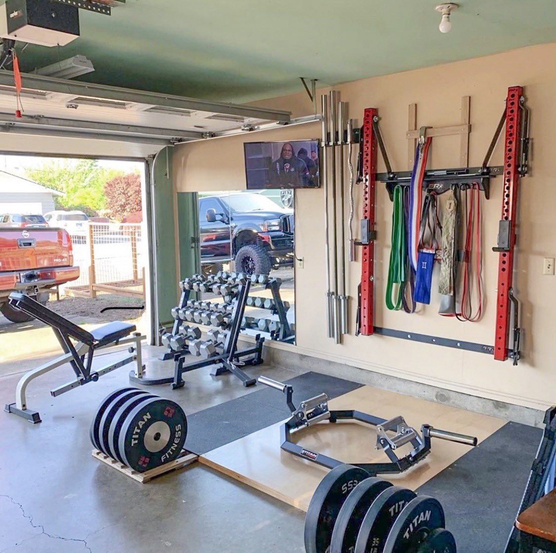 Garage gym shark tank prx performance facebook