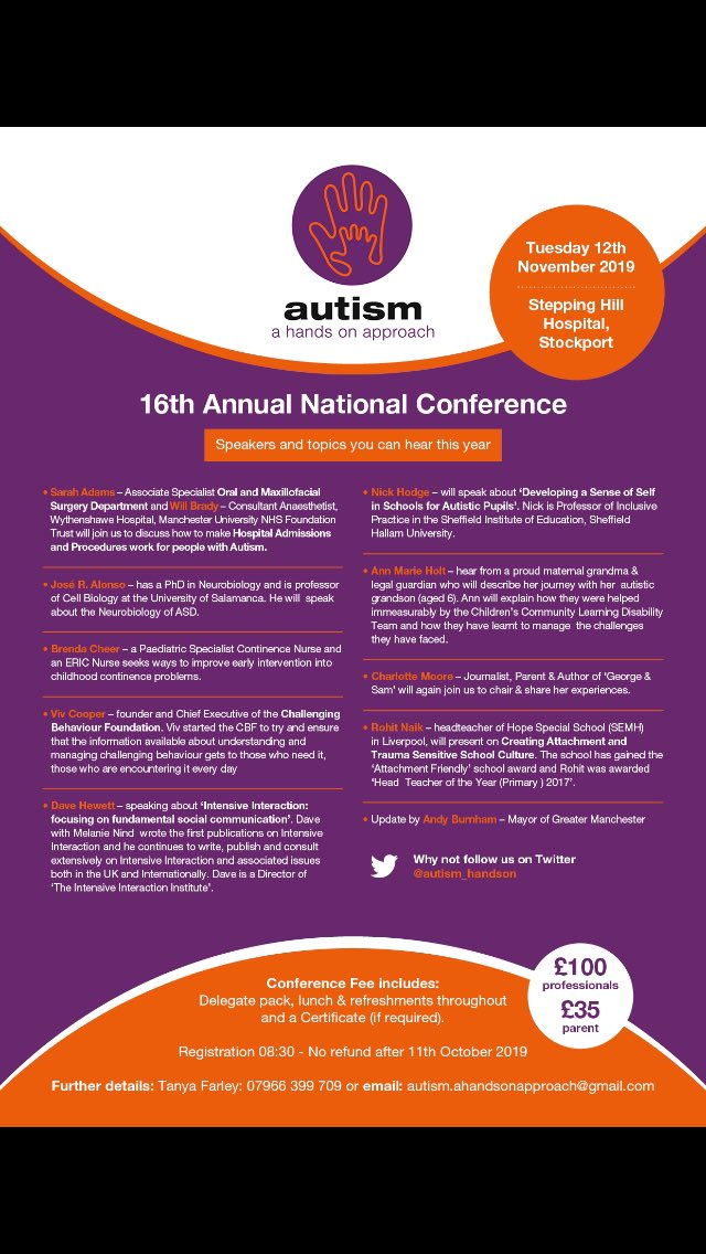 Autism Conference For Parents And >> Autism Hands On Conf Autism Handson Twitter