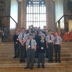 Our Year 7 boys had fun at #Westminster today, do you think we might see some of them running #Government soon? #PoliticsLive #education #MondayMotivation
