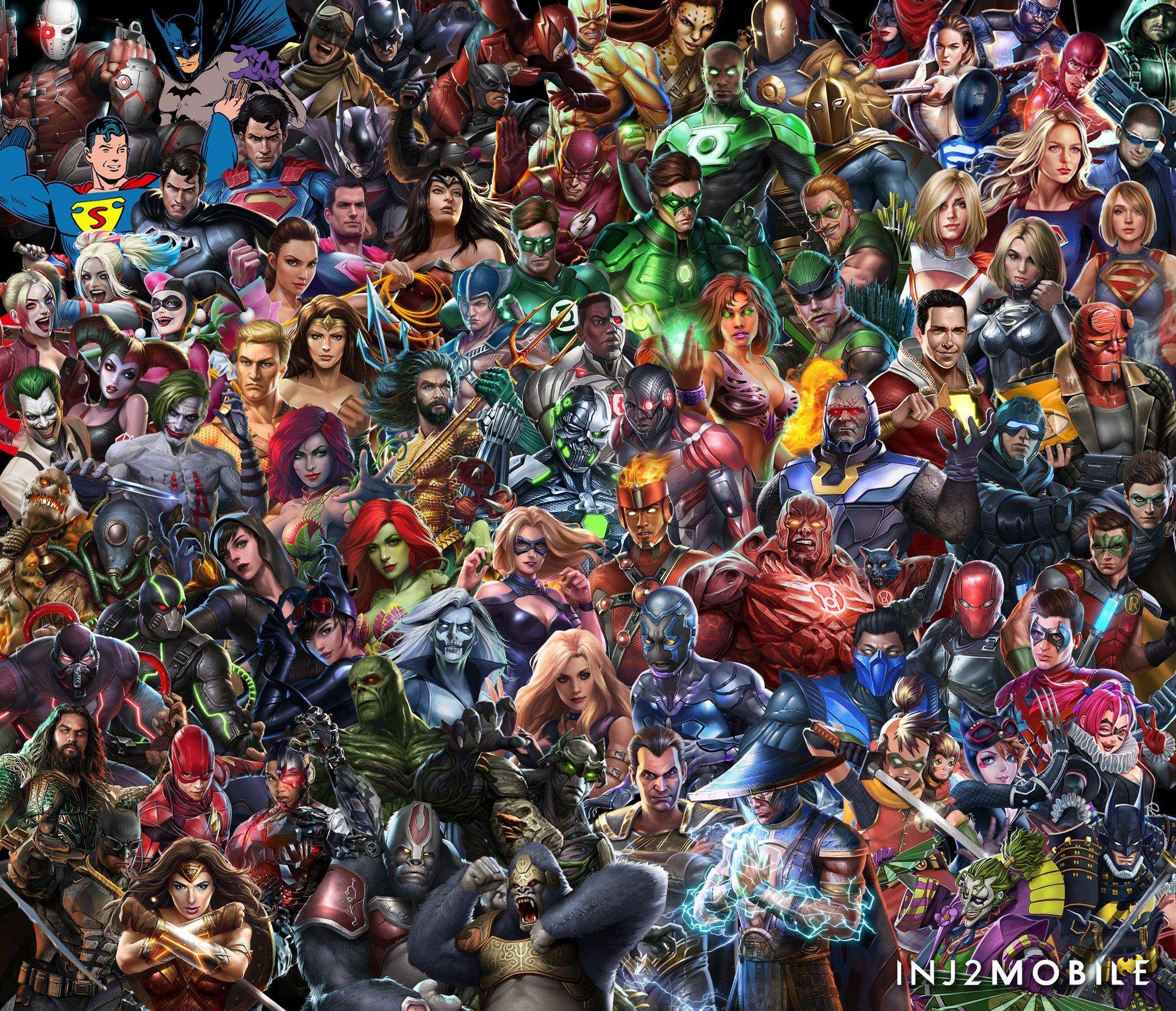 инджастис герои все одной