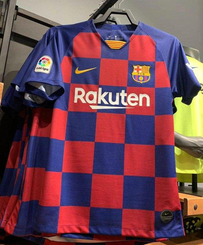 9496e92de05b A couple of pics of what is reportedly the new Barcelona home shirt for  2019 20  Barca  FCB  LaLigapic.twitter.com r7w9VSmb3K