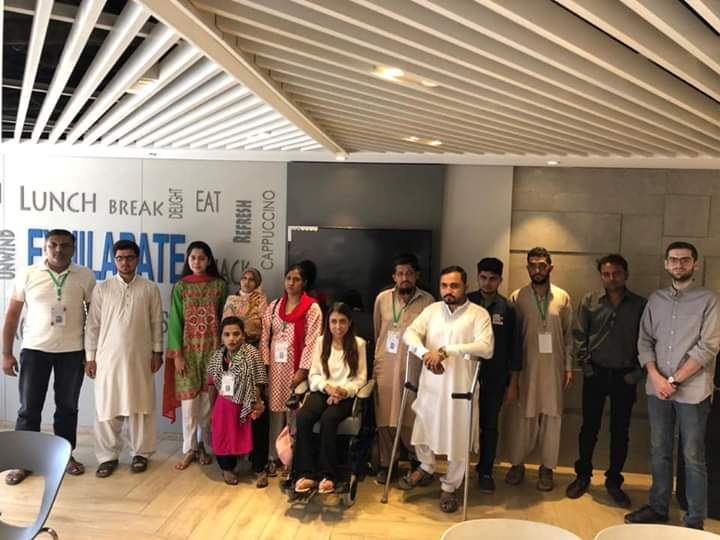 Field visit of NOWPDP's Computer Operator Trainees At Westbury Group of Companies.   Farhat Rasheed, Executive Director Marketing and Operations, was present to speak with the trainees.   Thank you Farhat for having us and inspiring the trainees so much!