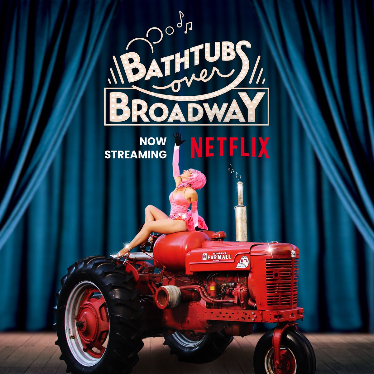 NOW ON @netflix! Join @Letterman writer @PANTSSteve as he delves into a hidden and hilarious musical world in the award-winning, feel-good documentary @BathtubsOverBwy!