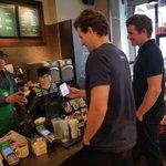 Image for the Tweet beginning: Breaking news! Starbucks, Nordstrom And