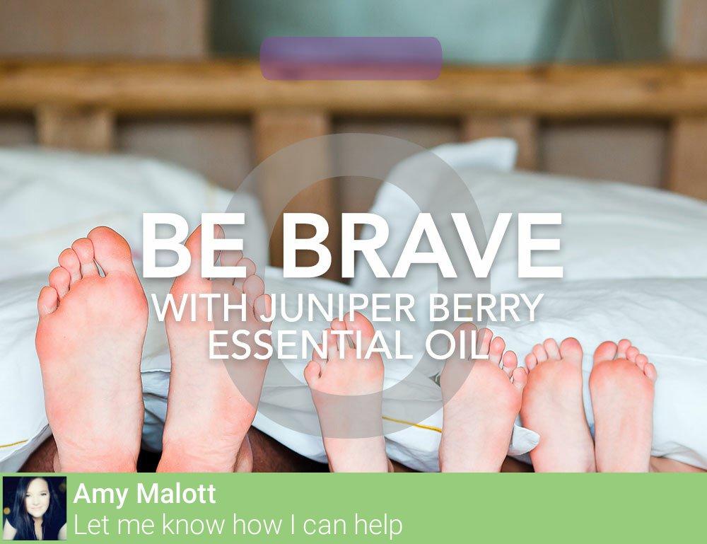 #DidYouKnow: Juniper Berry #EssentialOil can help deter nightmares. #MomsLoveIt