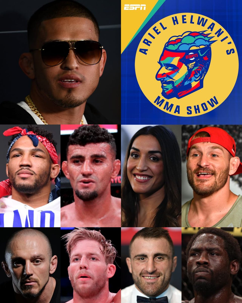 Fun one! Thank you @alexvolkanovski @TSPMMA115 @PhenomLima @Showtimepettis @TheDolceDiet @RealJackSwagger @stipemiocic @MoTownPhenom @killagorillamma for coming on the #HelwaniShow today. Thanks to all who tuned in.  YT: https://youtu.be/OX3xHinpDxo   iTunes: https://podcasts.apple.com/us/podcast/ariel-helwanis-mma-show/id1131739506?i=1000438019251 …