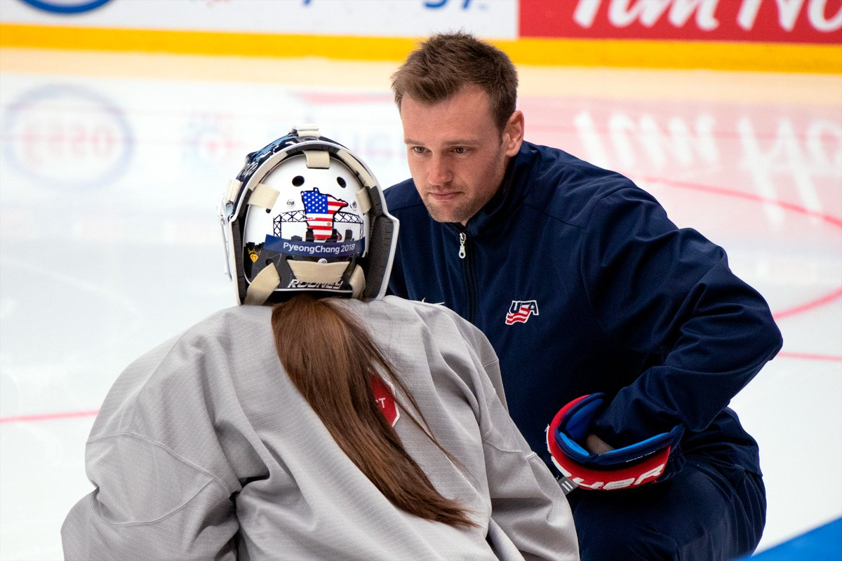 Usa Hockey On Twitter Uswnt Worldjuniors Goaltending Camp