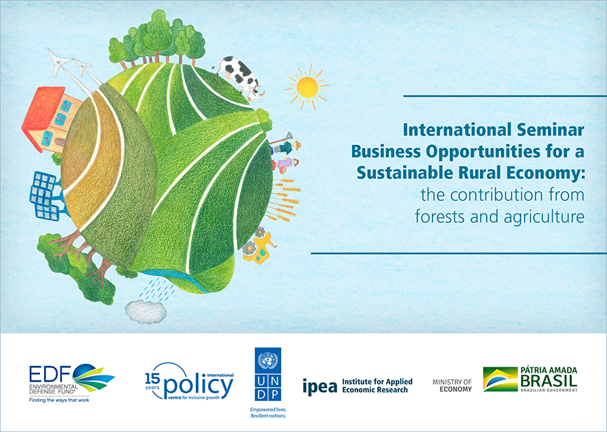 International seminar addresses new business opportunities to foster a #sustainableruraleconomy in Brazil. Read more here: https://t.co/18PNONjib2 @EDF @FAO @IFAD https://t.co/7tiOyhmT9M