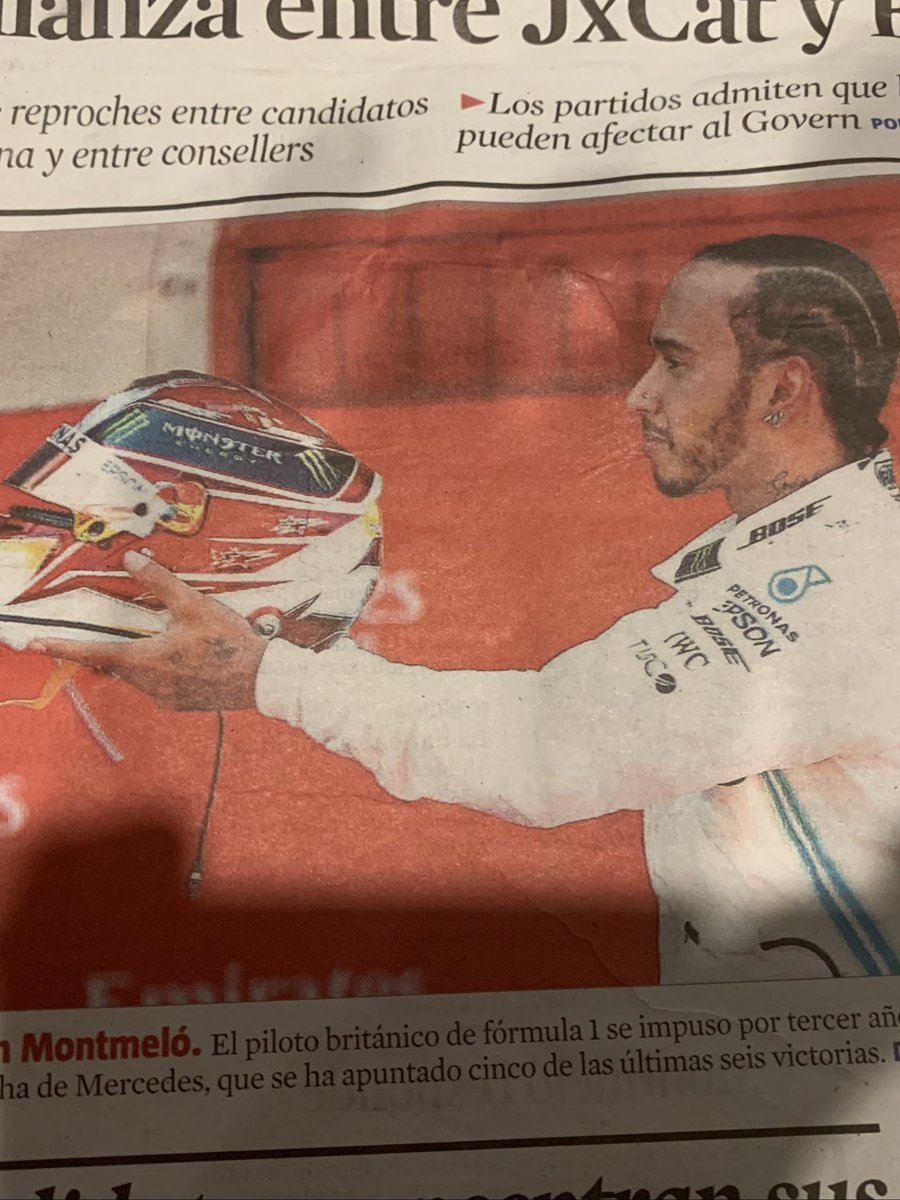 Another GP. Another win for Lewis. Same again next year please Mr Hamilton, we plan to be there #BarcelonaGP
