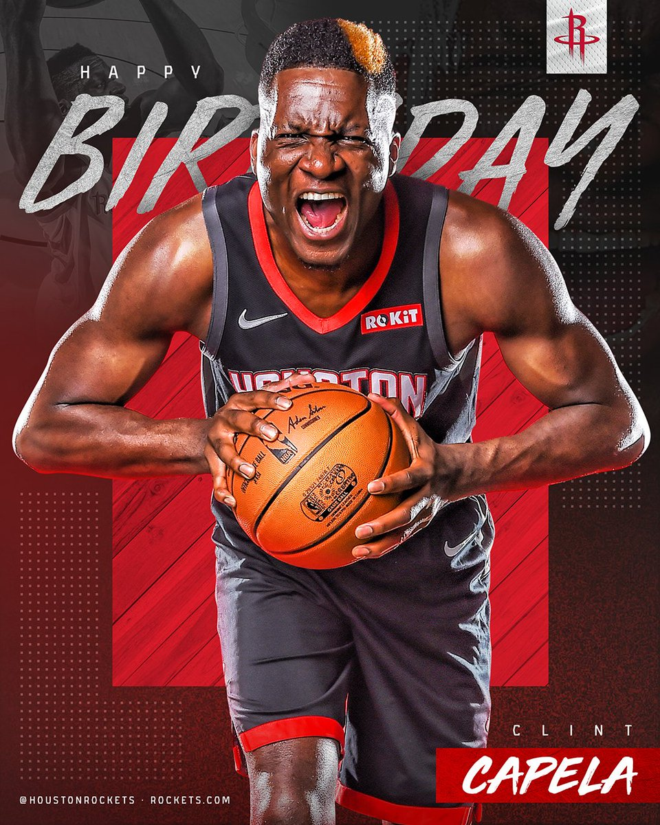 Happy Birthday, @CapelaClint! 🎉