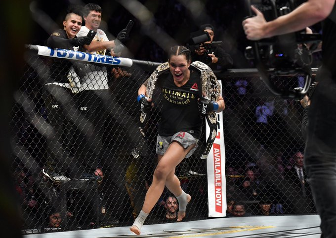 #UFCFacts: Brazil has now captured 3 of the 4 titles in the women's divisions. �