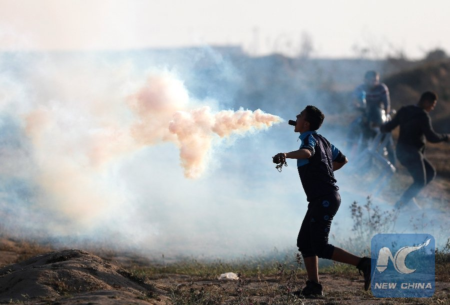 China Xinhua News's photo on #Gaza