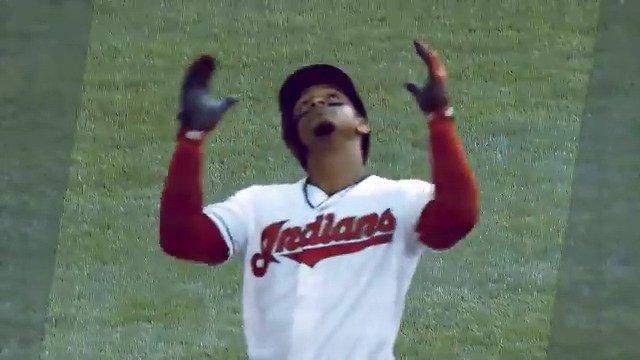 Smile! @Lindor12BC is tonight's #MLBTwitterHitter.
