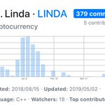 Image for the Tweet beginning: Linda developers hard work has