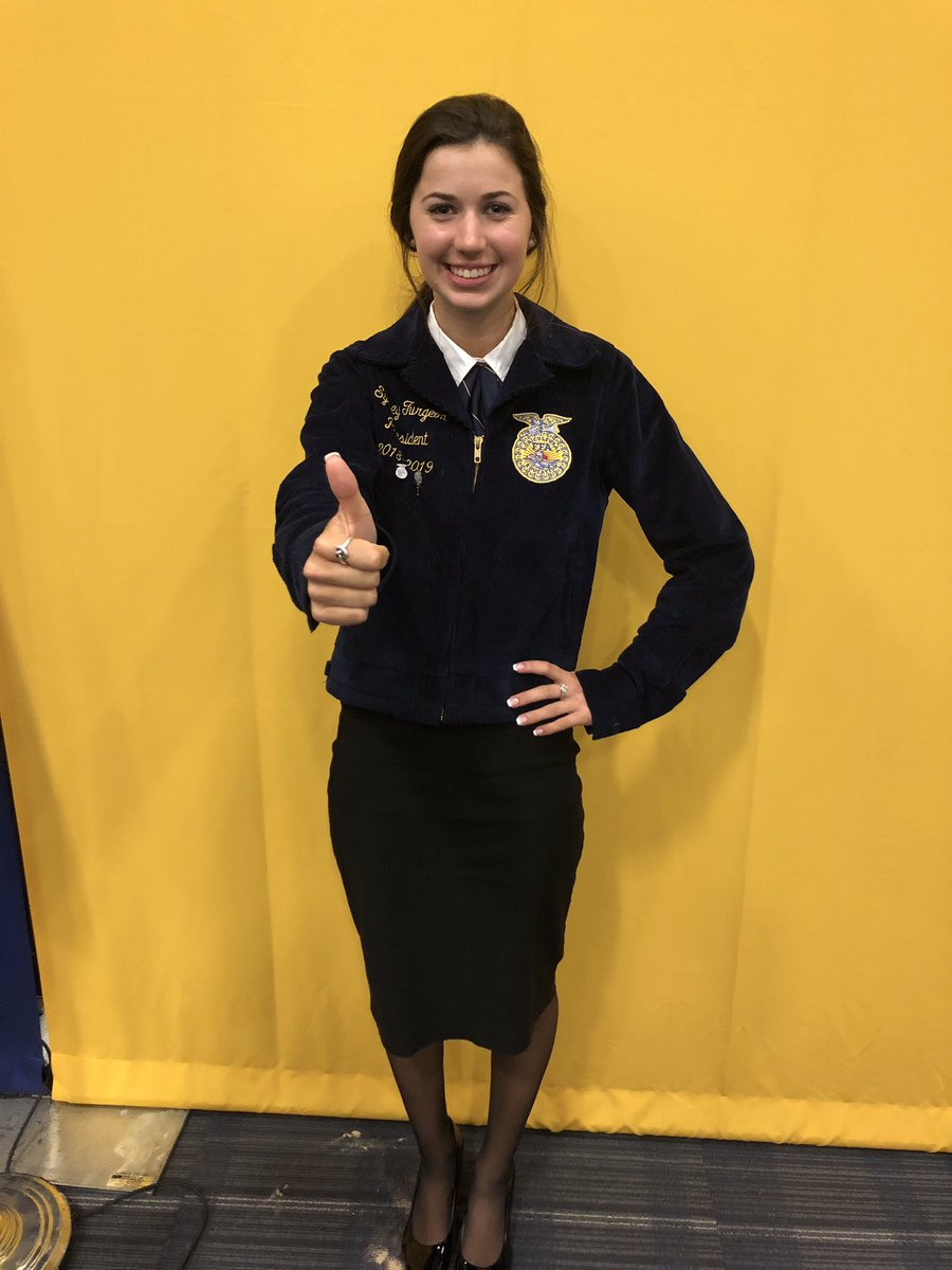 GCFFA's chapter president, Sydney Turgeon, was elected this morning as the Area V president during our area convention held at A&amp;M Commerce. Congratulations to Sydney on this momentous achievement, and to Area V on getting a great leader! <br>http://pic.twitter.com/exDQNQpM8m