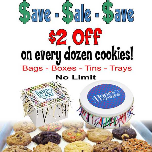 hopes cookies coupon