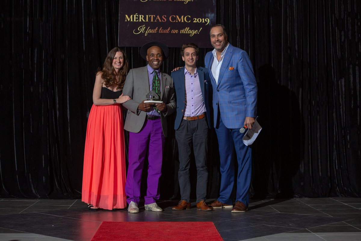 Congratulations to our Friend of #BellLetsTalk, Audley Coley, who recently received a Montreal Community Cares Award for the work he's doing to raise awareness for mental health issues. To read more about Audley's story, visit http://bit.ly/2YvCair