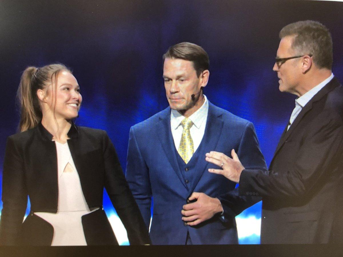 Ronda Rousey And John Cena Represent WWE At Fox Upfronts, Fox Executives Talk SmackDown Importance
