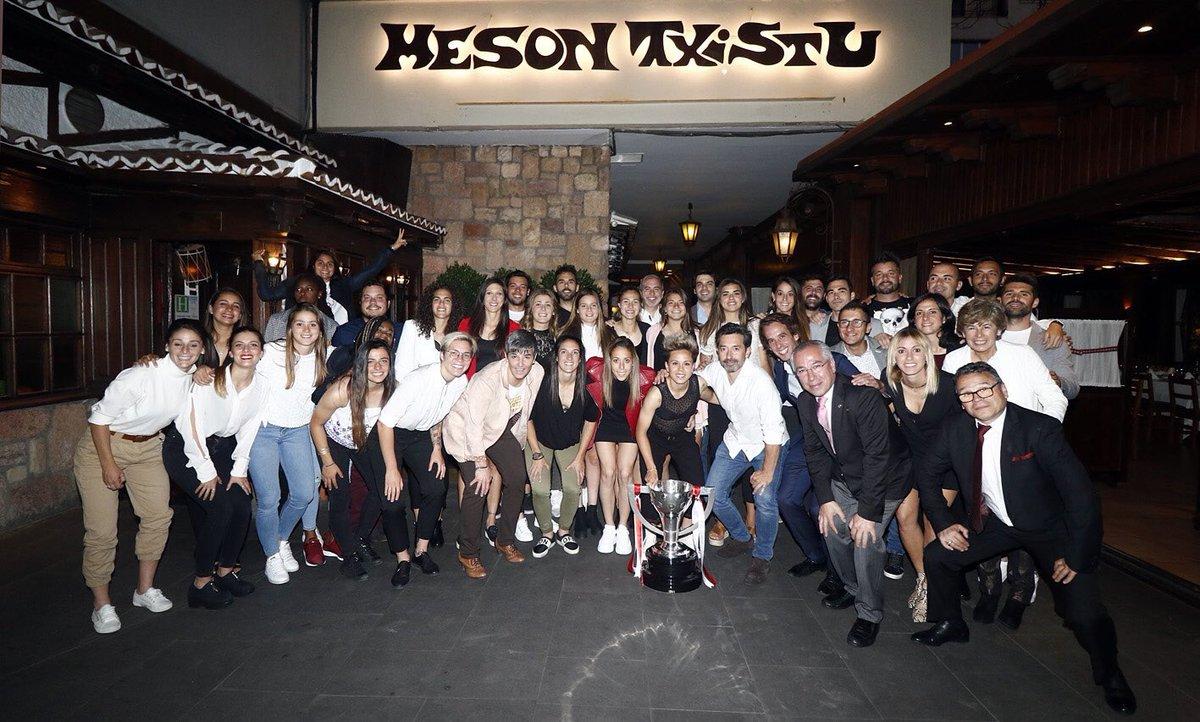 Muchas gracias a @MesonTxistu por como nos han tratado. Volveremoss!!! ❤️😘