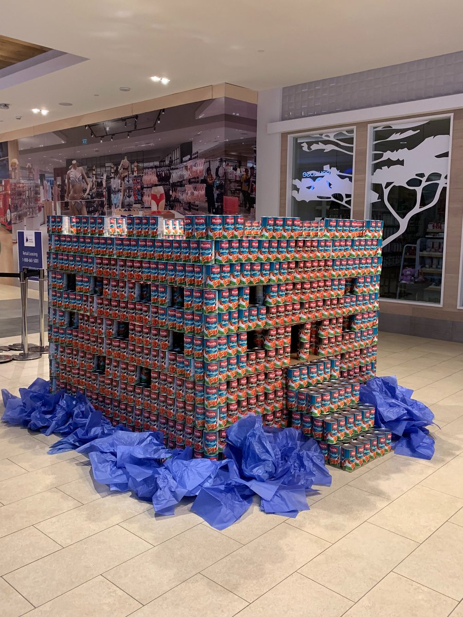 Only hours left to vote for your favourite structure @HillsideCentre Head down with $5 or 5 cans to give these wonders some love. Voting closes at 5 pm! Proceeds to @MustardSeedVic  #yyj #canstructionyyj #viccan #canstruction2019 #onecanmakeadifference <br>http://pic.twitter.com/pWQf8riZwo