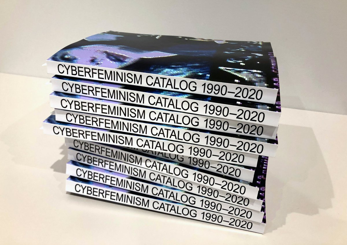 Whew. 300-page draft manuscript of the Cyberfeminism Catalog is done! Published book + open-access, open-source, crowd-sourced website coming soon(ish)