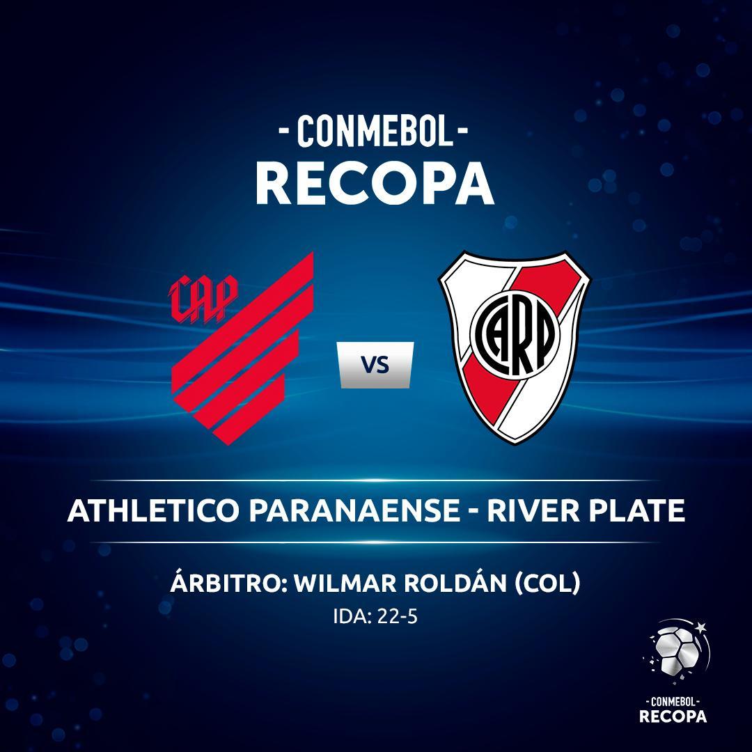 Por el paro, reprograman River-Athletico Paranaense