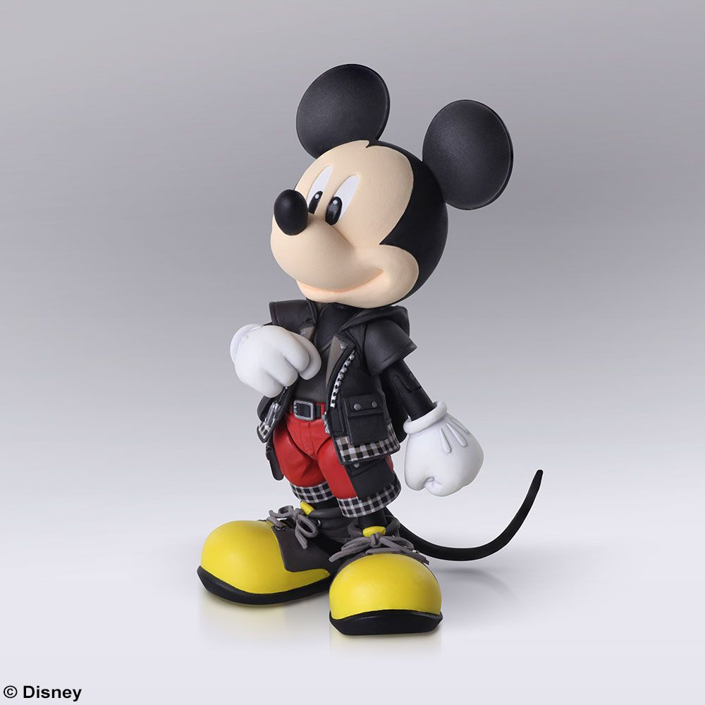 The brand new King Mickey BRING ARTS figure is also available for preorder!  The King is beautifully detailed and, of course, comes with his trusty Keyblade!✨  Take a look here👇 https://sqex.link/95341