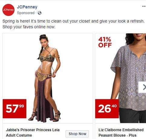 0fa0a1d3b Hooray! I ve been waiting and waiting for the Princess Leia prisoner costume  to go on sale