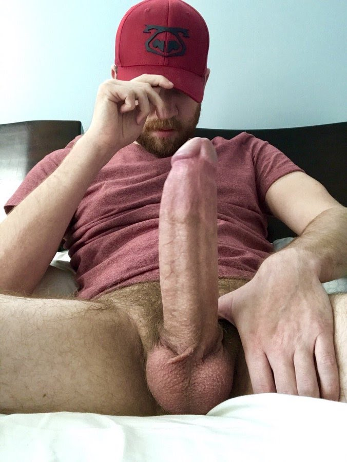 Huge Cock Over A Skinny Guys Ass