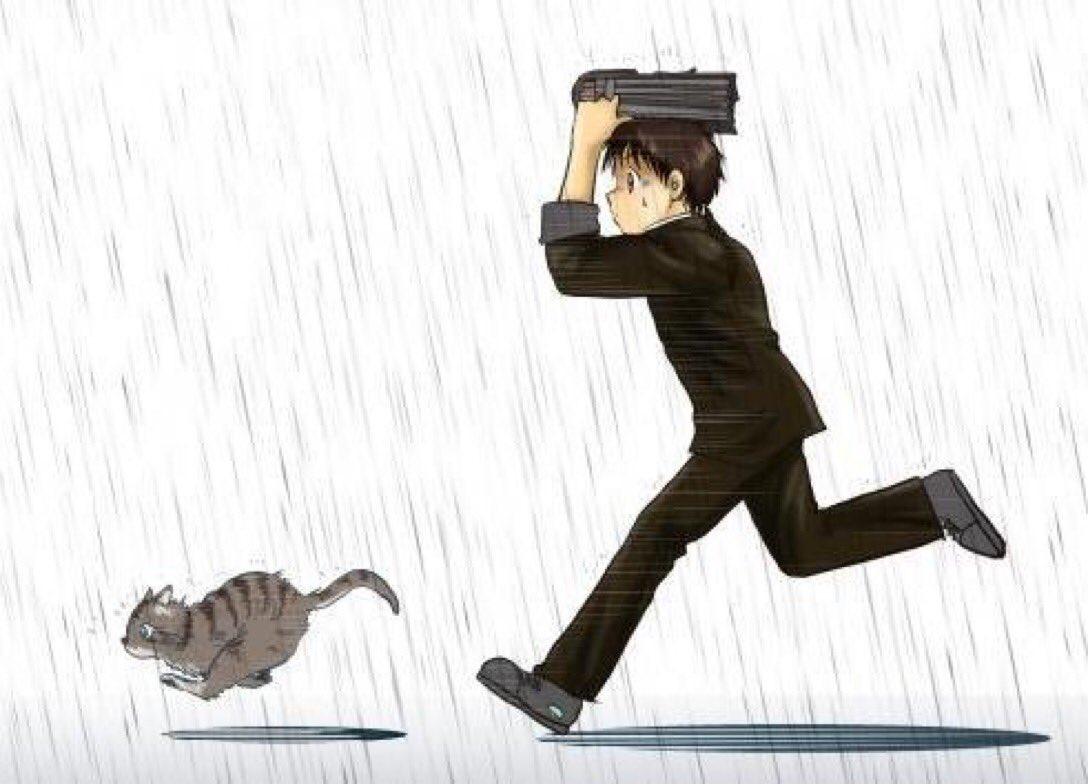 たきの♪ちゅー@RED GUNS 4話 13/24完成🐭✨'s photo on 雨と雷