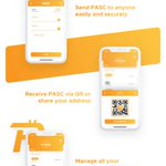 Image for the Tweet beginning: Checkout the new $PASC wallet