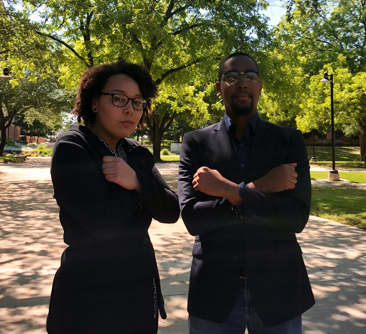 @spicer_alec: This is exciting. I don't think we've ever had two black editors back to back before in @ntdaily history.   Jelani: What should we do? Wakanda forever??   Happy to announce that I will be the Editor-in-Chief at North Texas Daily this fall! <br>http://pic.twitter.com/q1T33bgtdy