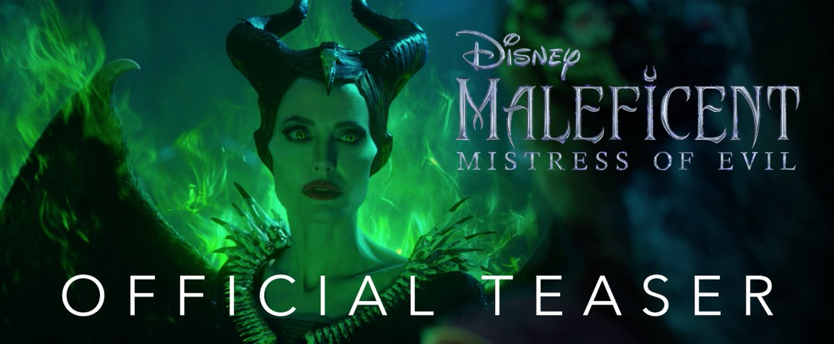 The story became legend, but this is no fairy tale. Watch the teaser for #Maleficent: Mistress of Evil. In theaters October 18!