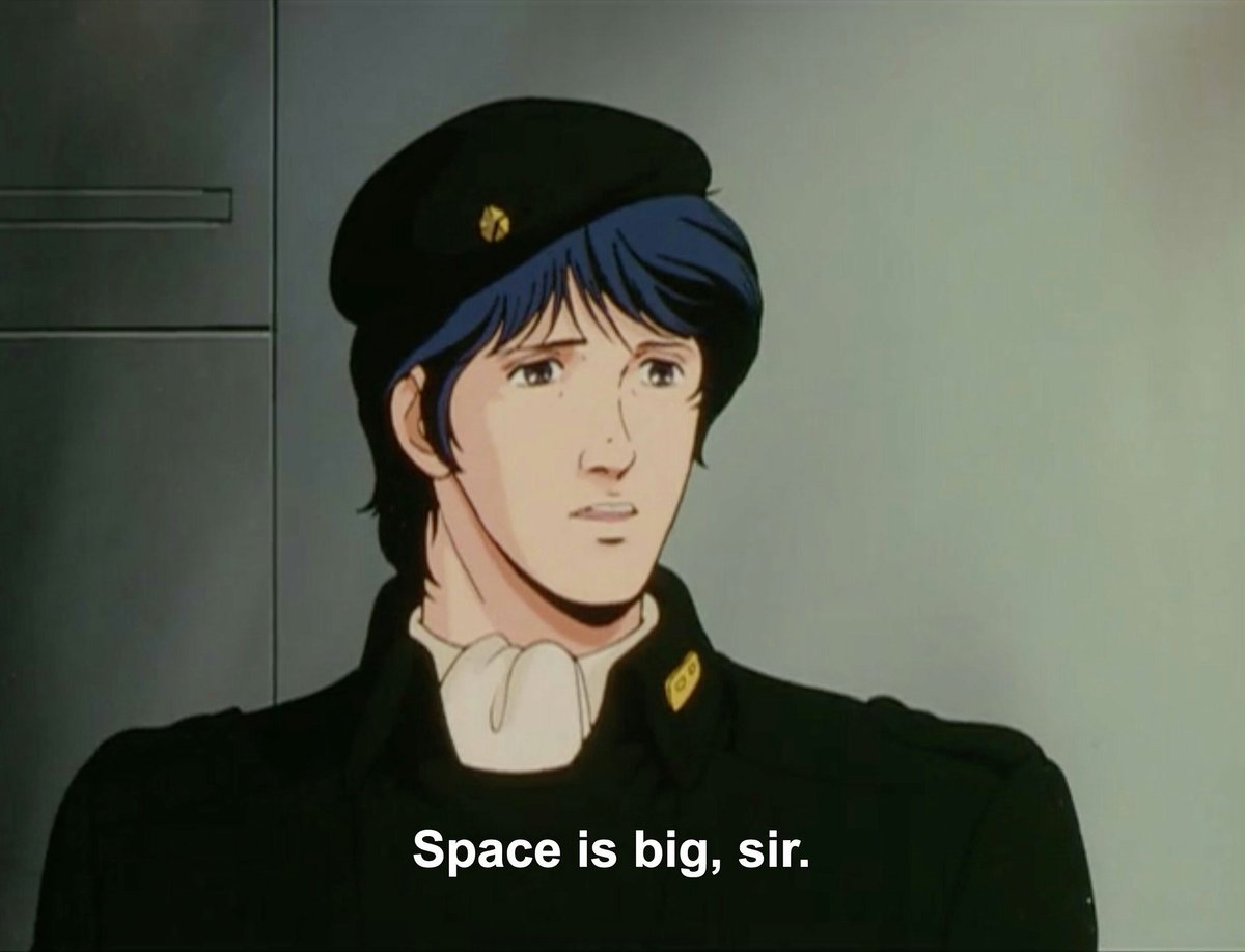 if what the people want is a dramatic show with a complex and compelling cast that examines power and war among other things, can i interest yall in legend of the galactic heroes