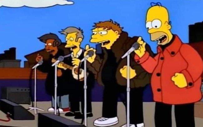 """Un día como hoy pero de 1993, fue el último concierto de """"Los Borbotones"""" en la terraza del bar de Moe."""