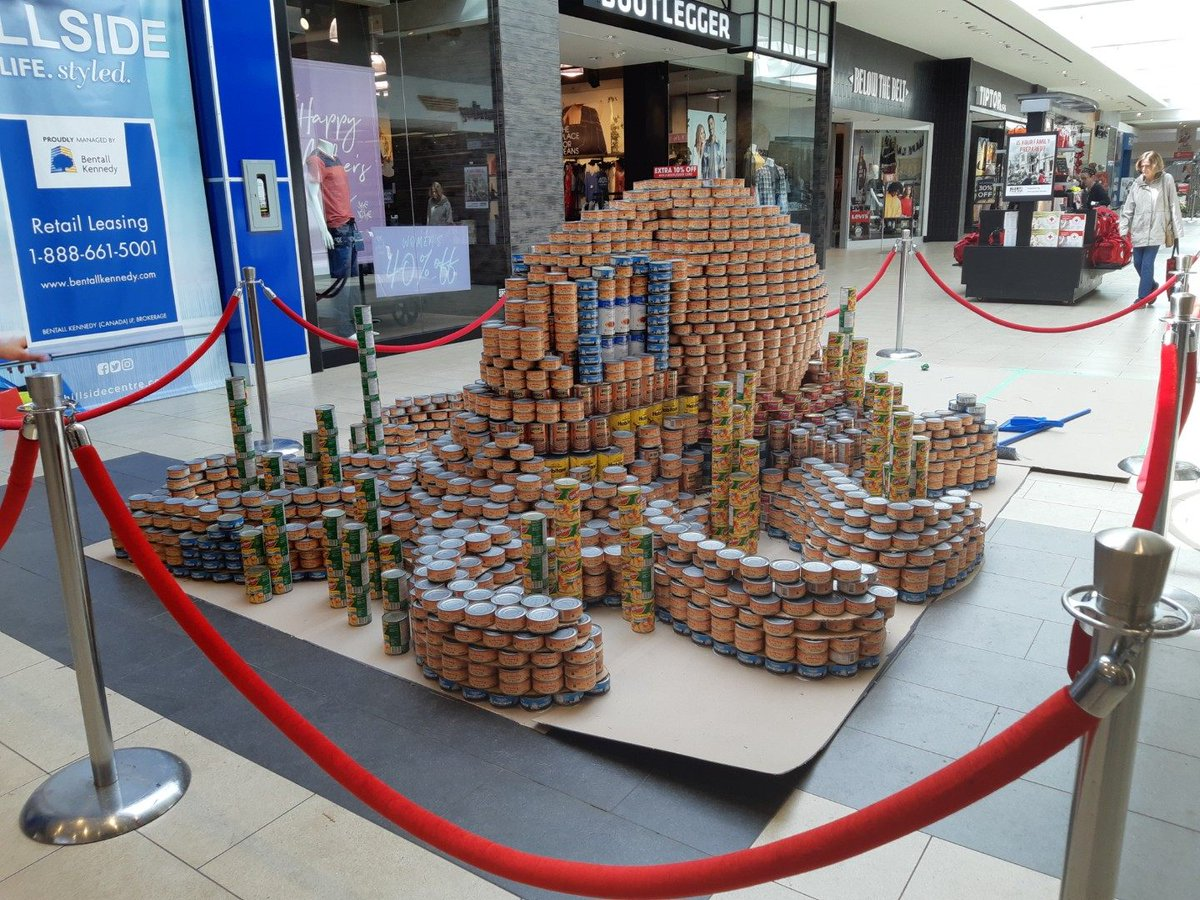 Congrats to @DahliaSociety and @MustardSeedVic for an incredible turn out for the 6th annual CANstruction! CLA is so grateful for everything you do for our community. CLA's Octopus took home the People's Choice, Most Cans, & Best Original Design Awards! #onecanmakeadifference <br>http://pic.twitter.com/tkNeqyGDos