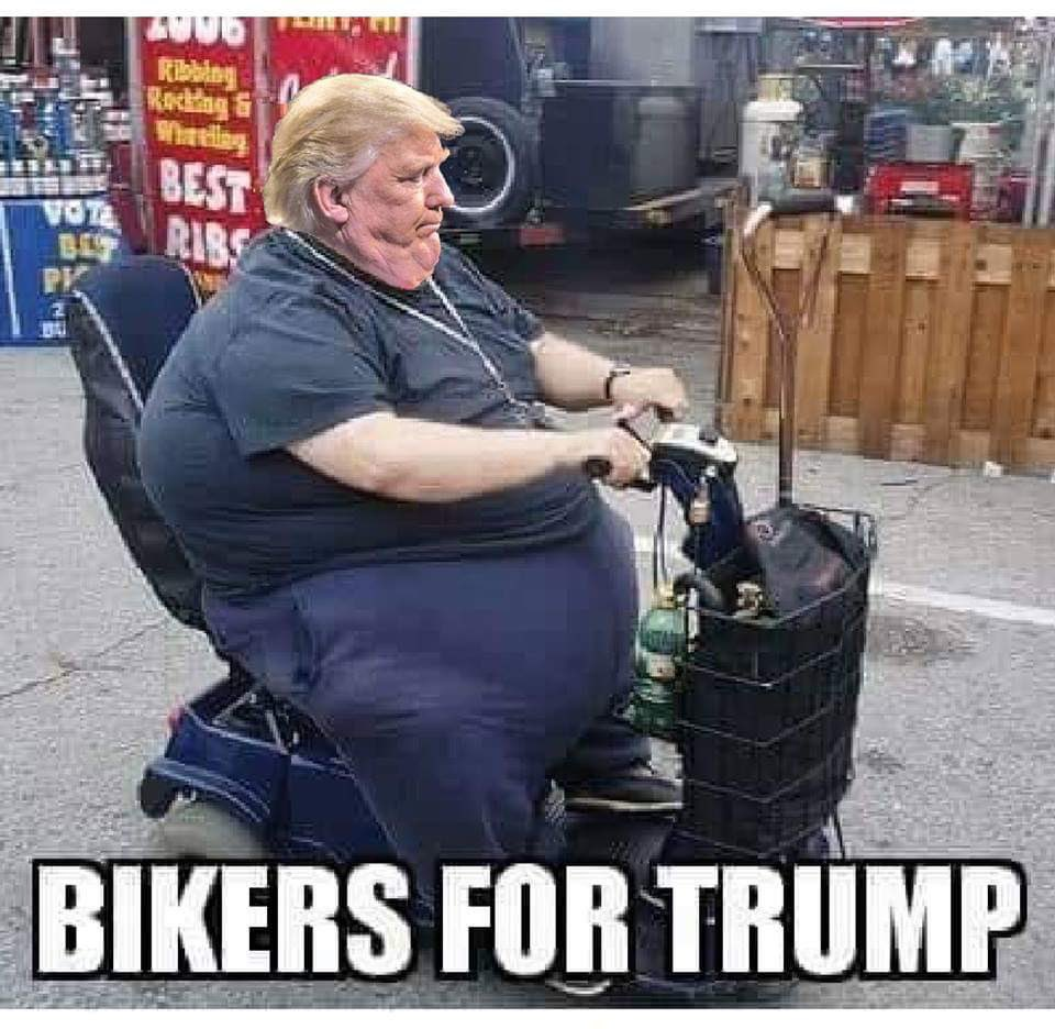 #IHaveAHardTimeBelieving bikers for Trump <br>http://pic.twitter.com/Y5oypp1T2h