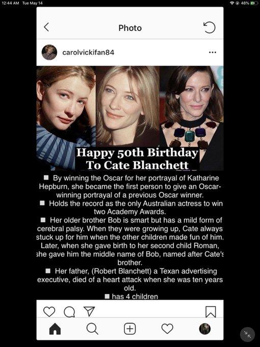 Happy Birthday! Cate Blanchett, Amber Tamblyn, George Lucas and Bobby Darin!