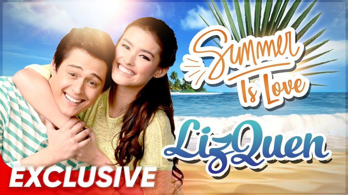 """Sasabayan nina Liza Soberano at Enrique Gil ang init ng summer with their kilig moments sa """"Summer is Love"""" extended cut!  #SummerIsLove #LizQuen @lizasoberano @itsenriquegil"""