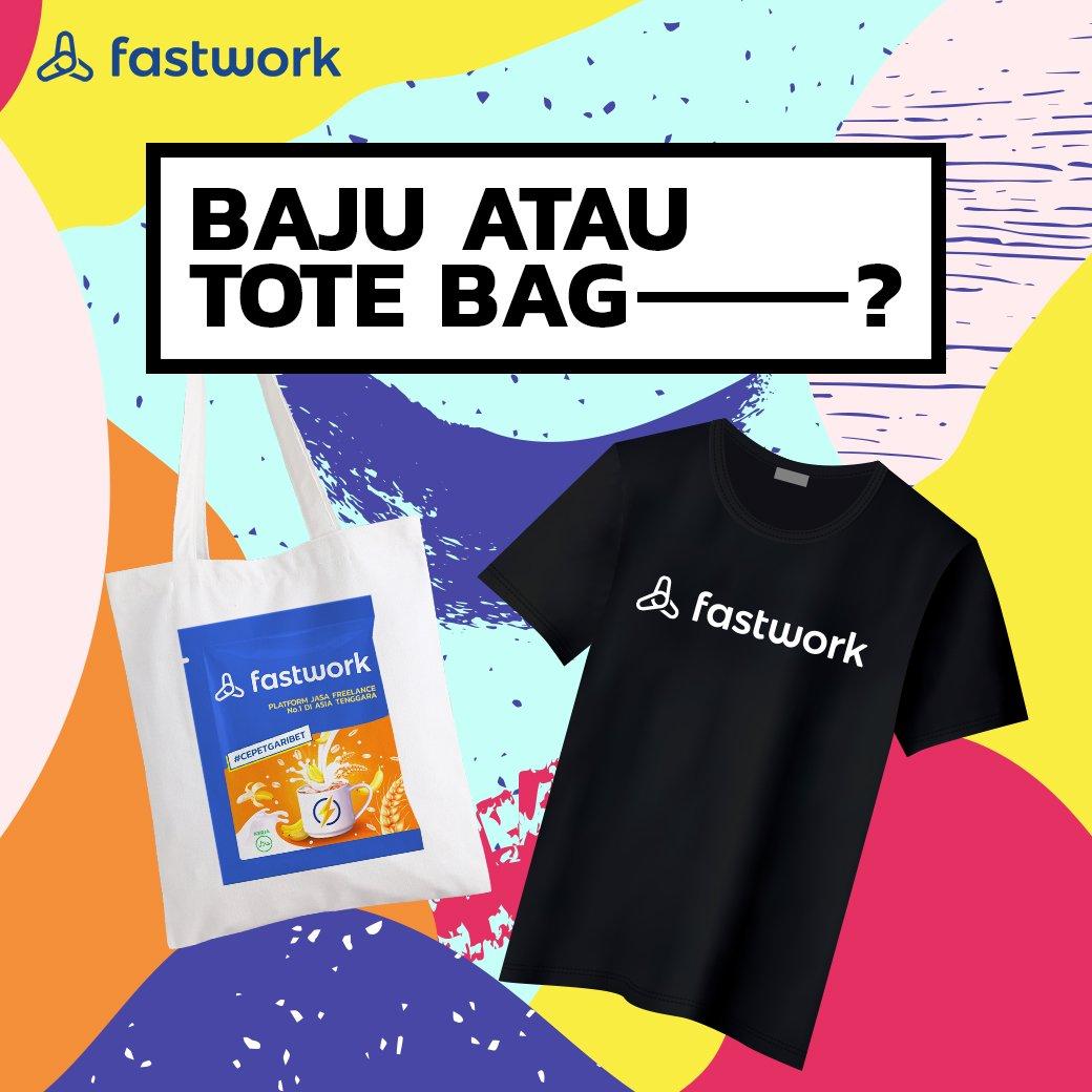 Bakalan ada GIVEAWAY lagi nih dari Fastwork edisi May GIVEAWAY berupa merchandise eksklusif Fastwork Indonesia untuk 3 orang pemenang. • Caranya gampang! Langsung ke Instagram Fastwork Indonesia! GOOD LUCK! #FastworkIndonesia #cepetgaribet #Fastwork https://t.co/25hg3Mq8V6